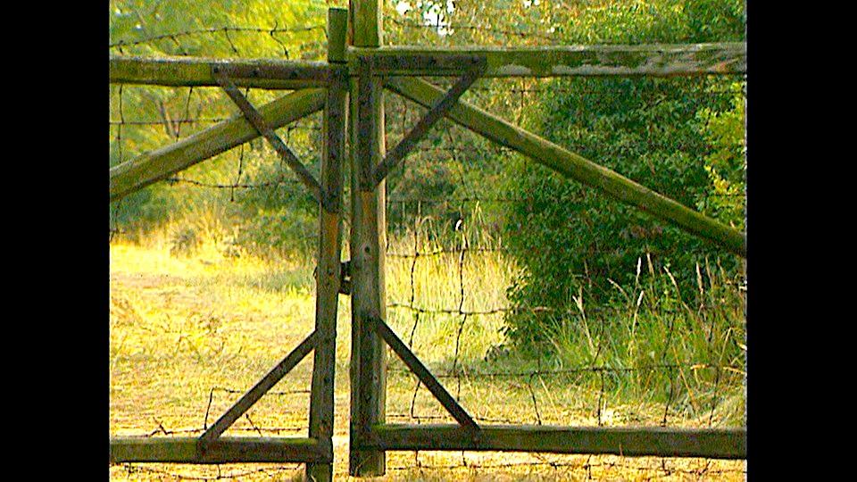 Porta në kufirin austro-hungarez nga nisi liria