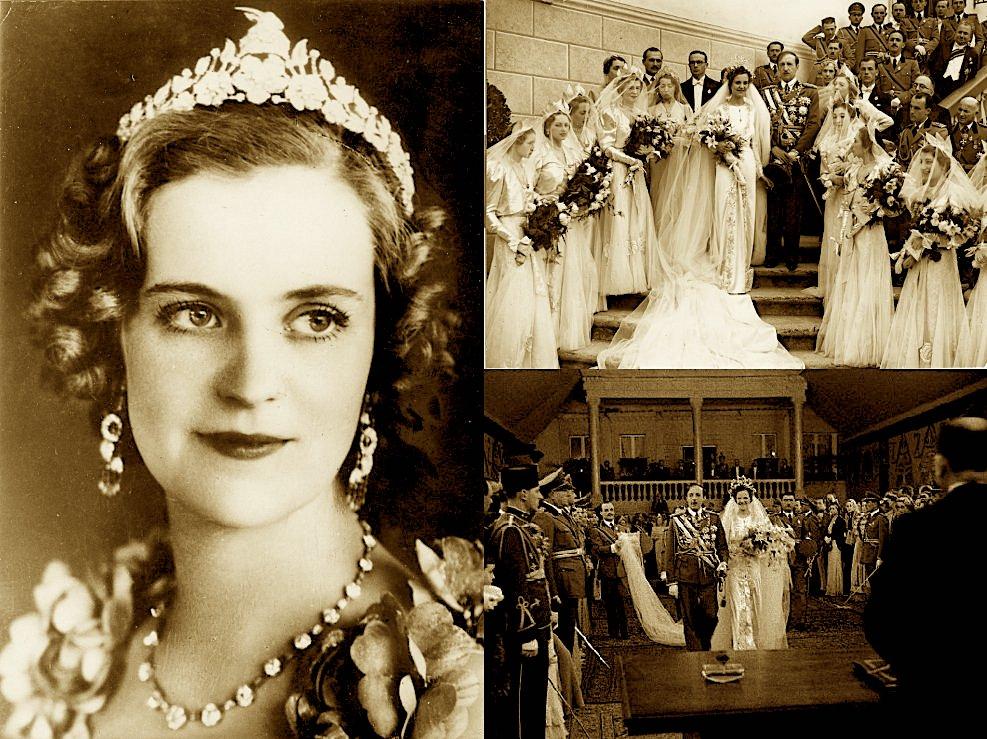Mbretëresha Geraldinë Appogny (1915-2002) (polifoto)