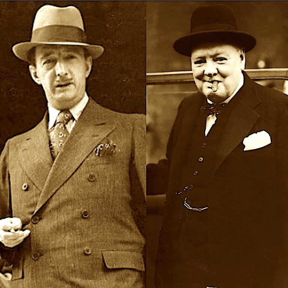Ahmet Zogu dhe Winston Churchill