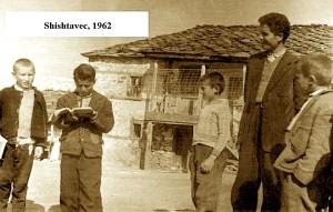 Havzi Nela me nxënësit - Shishtavec 1962