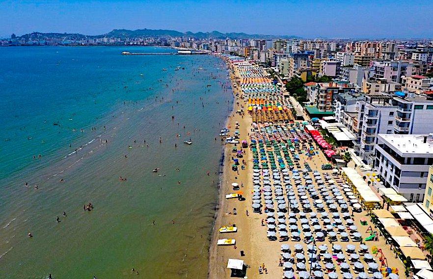 Durresi - pjesa turistike e Plazhit
