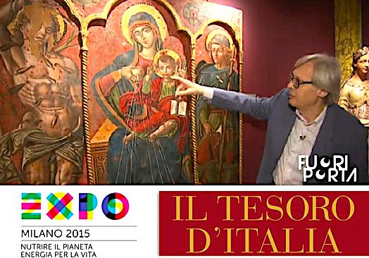 Sgarbi duke shpjeguar Michele Greco nga Vlora - EXPO 2015