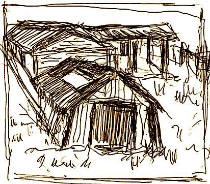 Punishtja e Parullave - skicë nga Lek Pervizi
