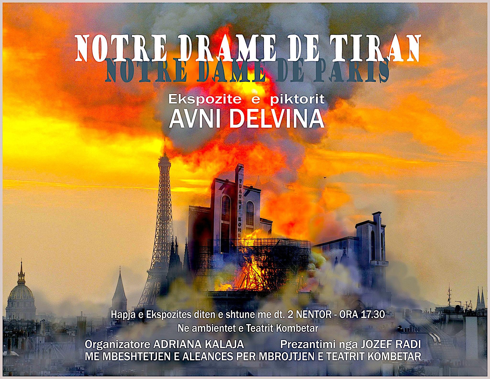 Notre Drame de Tiran - Ekspozitë nga Avni Delvina