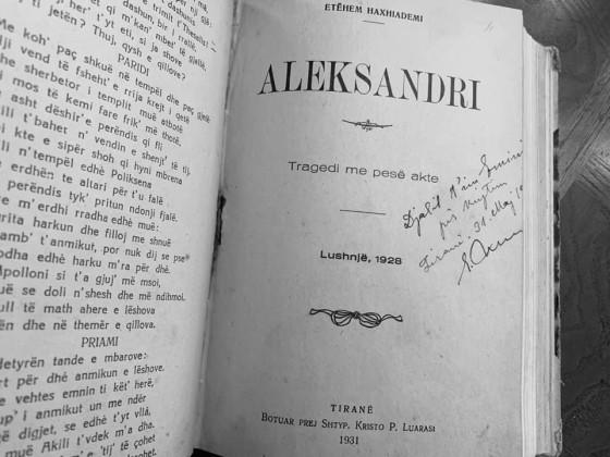 Aleksandri - tragjedi e shkruar ne Lushnje 1928 - nga Et'hem Haxhiademi,