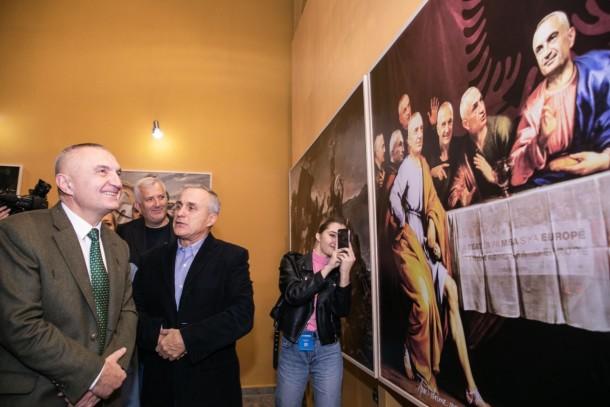 "Presidenti Meta ne Ekspoziten ""Notre Drame de Tiran"" 4 nentor 2019"