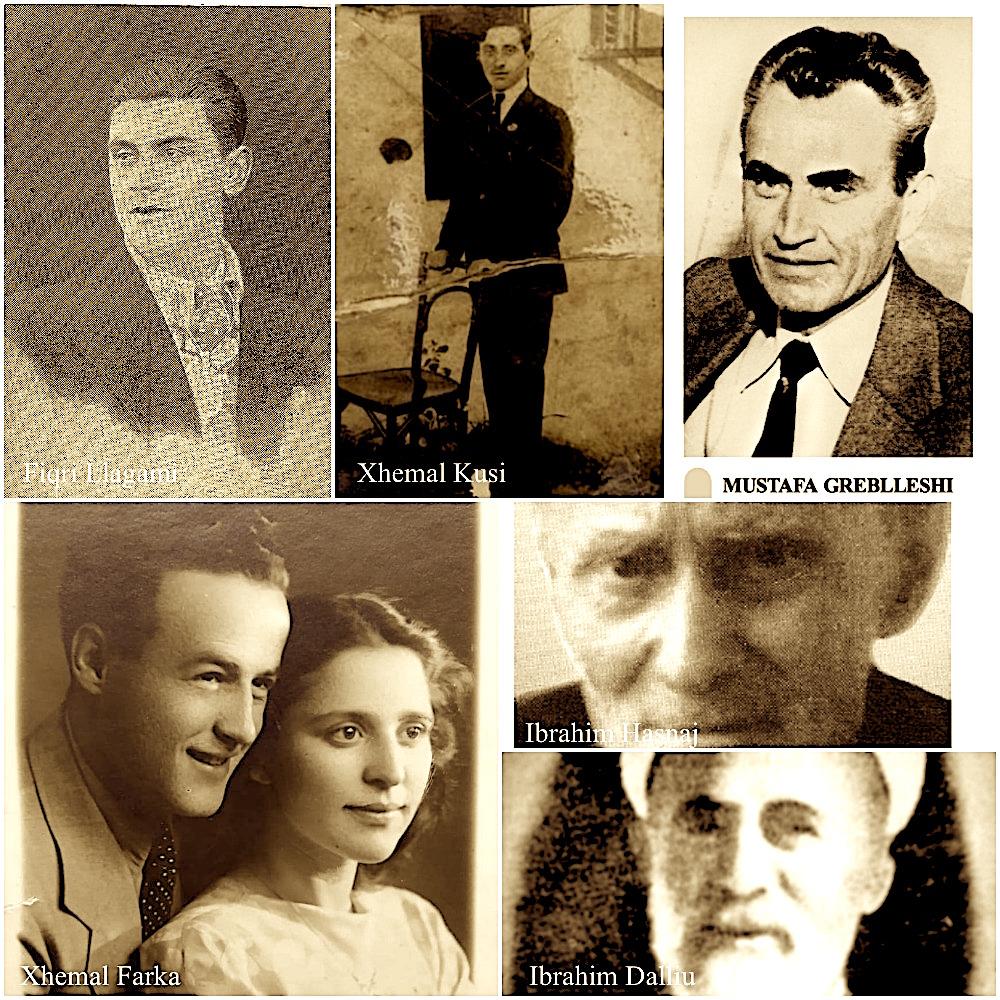 Shkrimtarë Tiranas - Hasnaj, Dalliu, Kusi, Llagami, Farka, Greblleshi