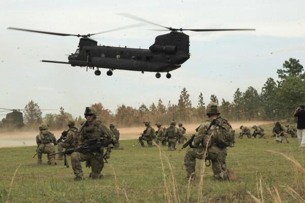 Ushtria amerikane ne terren