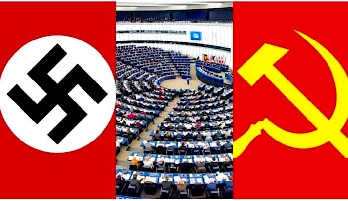 Parlamenti Europian Midis Krimeve Naziste dhe Komuniste