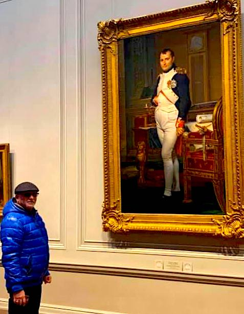 Artan Gjyzel Hasani përballë Napoleonit