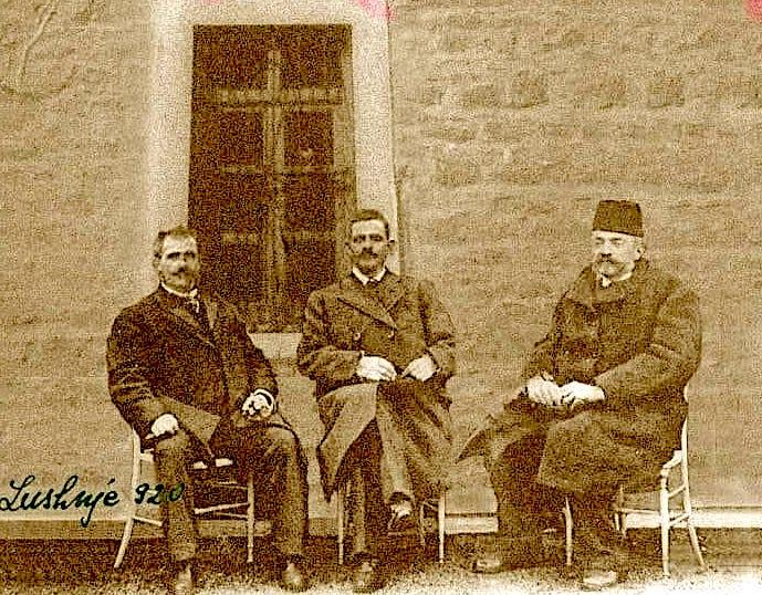 Lushnje 1920 - Aqif Pashe Elbasani - Bektash Bej Cakrani