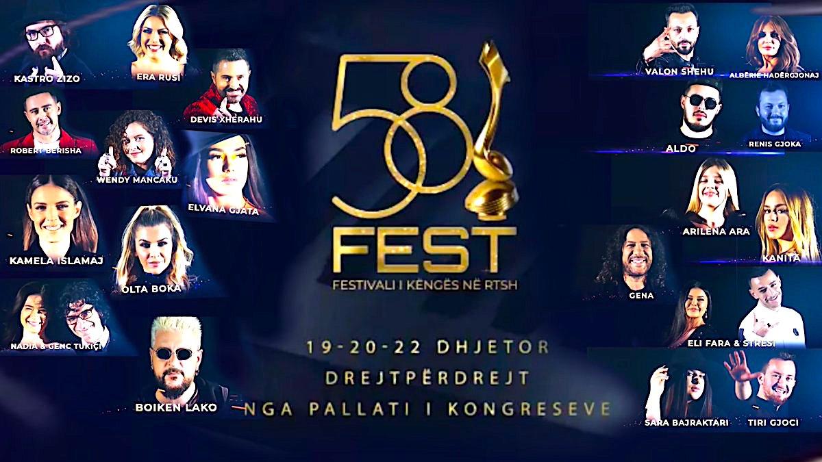 Fest 58 - 19-22 dhjetor 2019