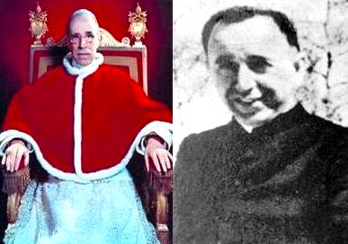 Papa Pio XII & Dom Shtjefen Kurti