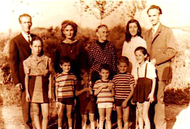 Gradishtë 1970 Genzi, Albina, Beba e Leka e fëmijë