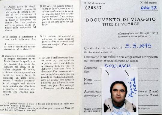 Prototip i nje Documenti-Viaggio