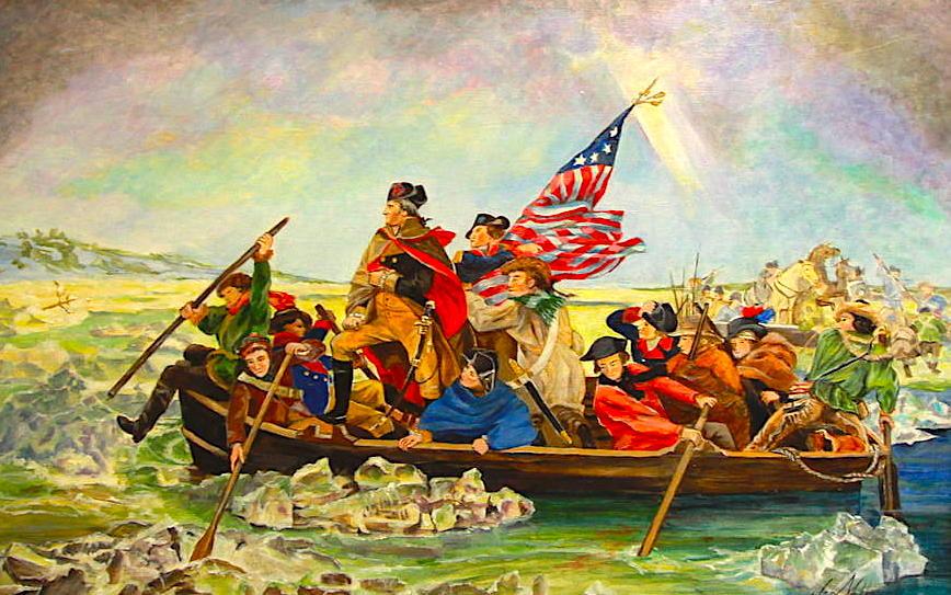 George Washington kalon lumin Delaware