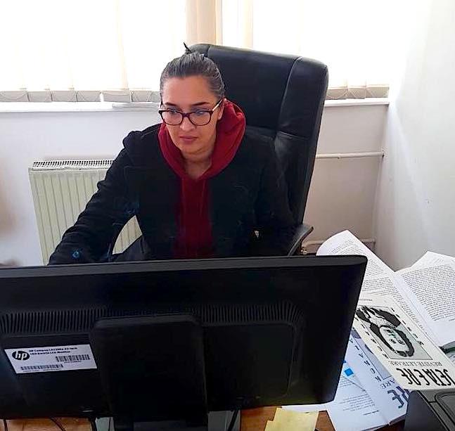 Studiuesja Meliza Krasniqi - gjatë studimit të Musinesë