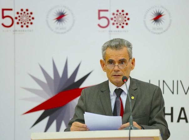 50 vjetori i Universitetit të Prishtinës - Prof. Dr. Marjan Dema.