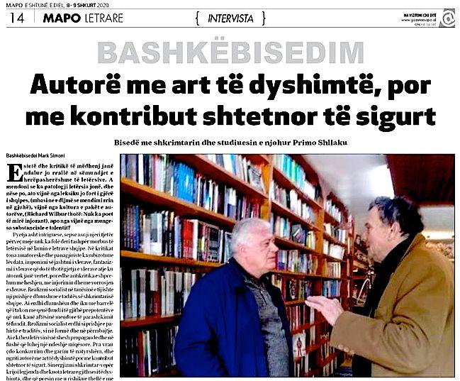 Primo Shllaku & Mark Simoni