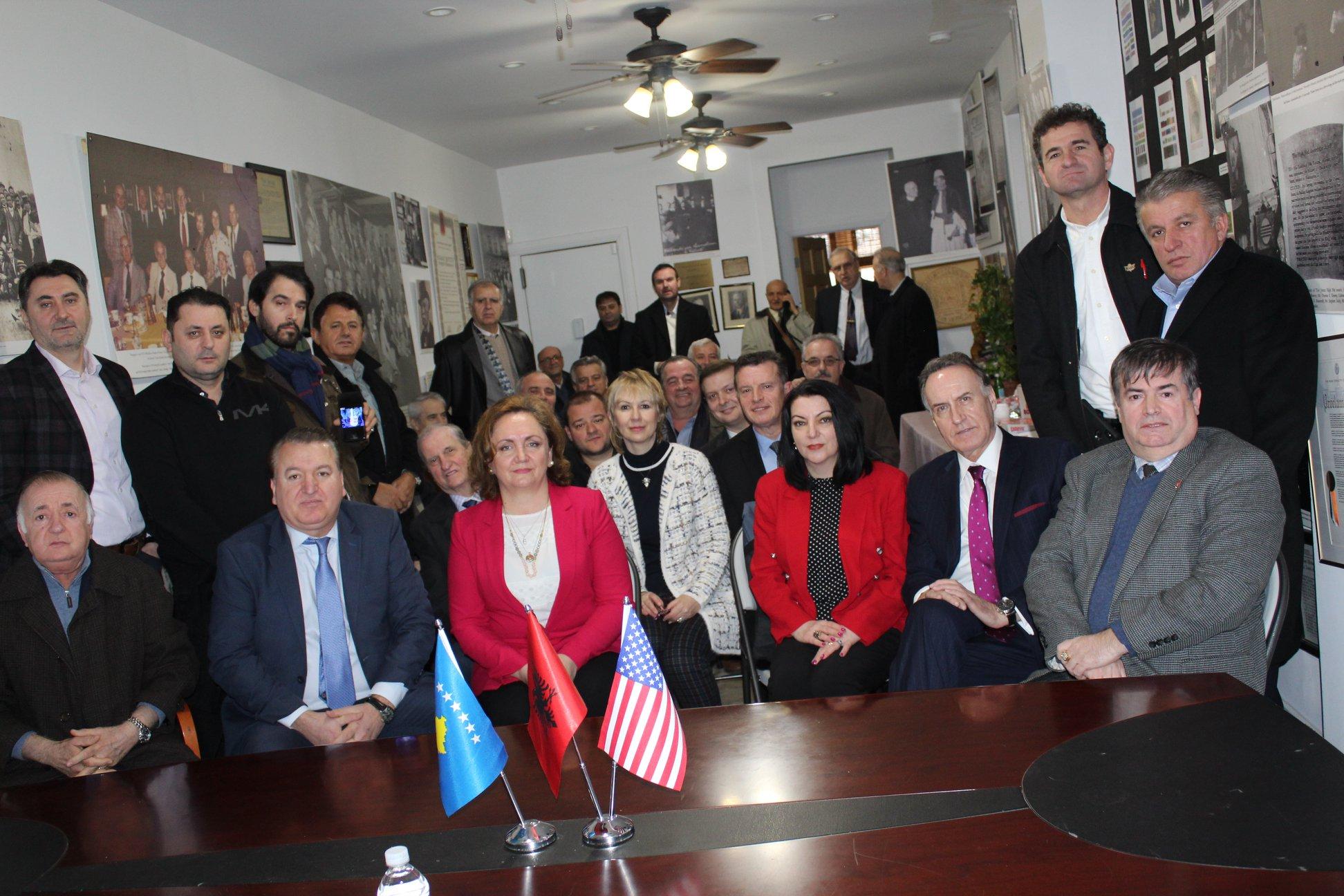 Takimi me ambasadoren Faber te Vatra - 15 shkurt 2020