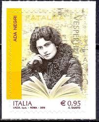 Ada Negri (1870-1945) Filateli