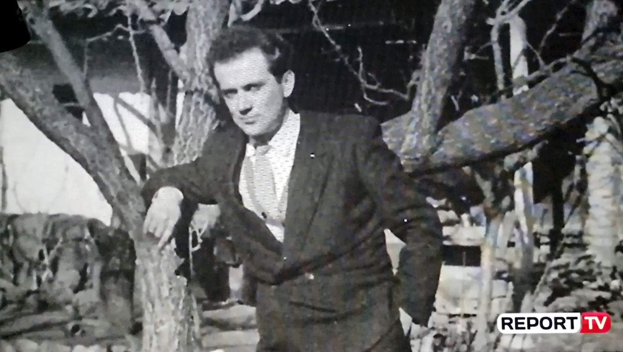 Robert Prifti në rininë e tij