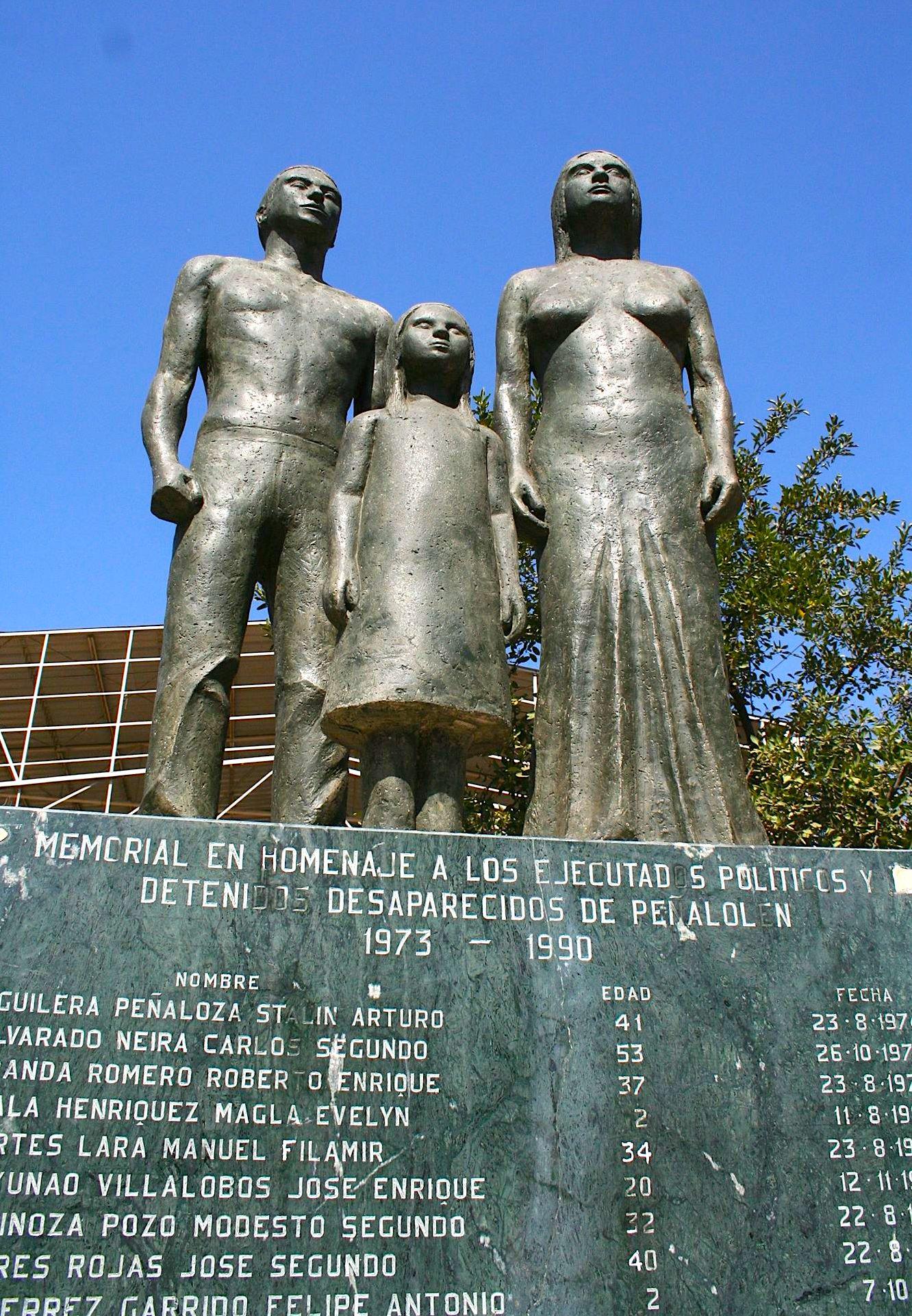 Monumenti i të Zhdukurve në Kili