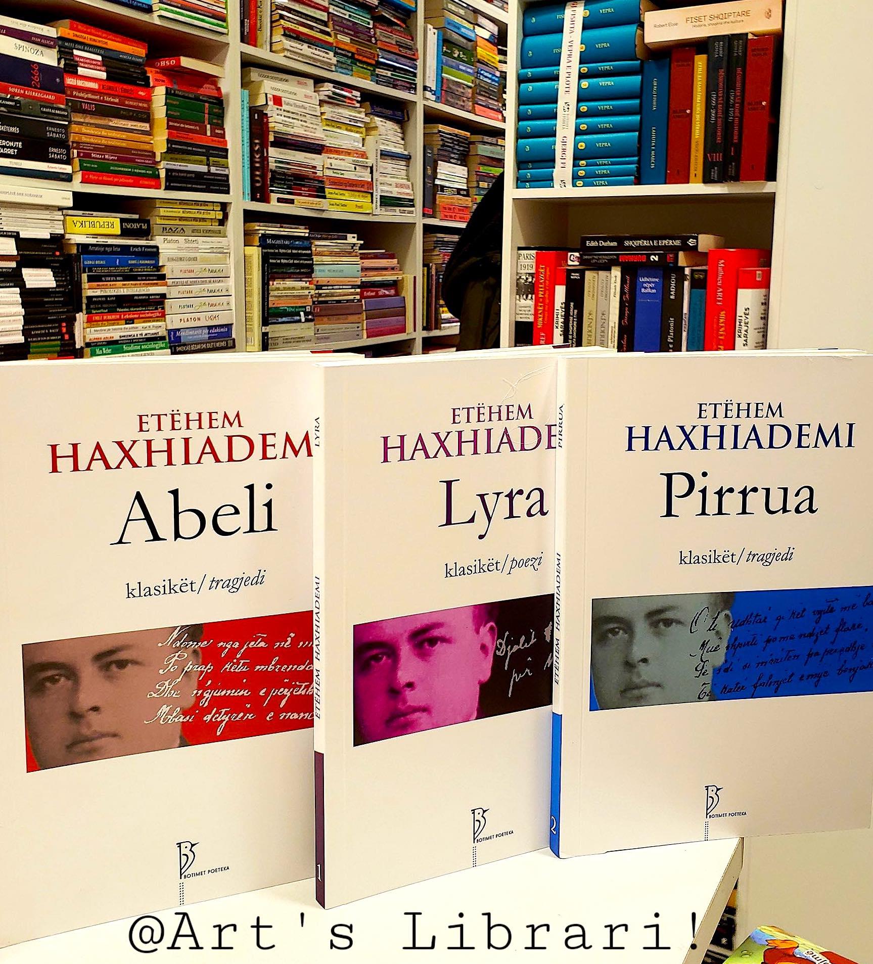 Vepra e Haxhiademit - në libraritë e kryeqytetit