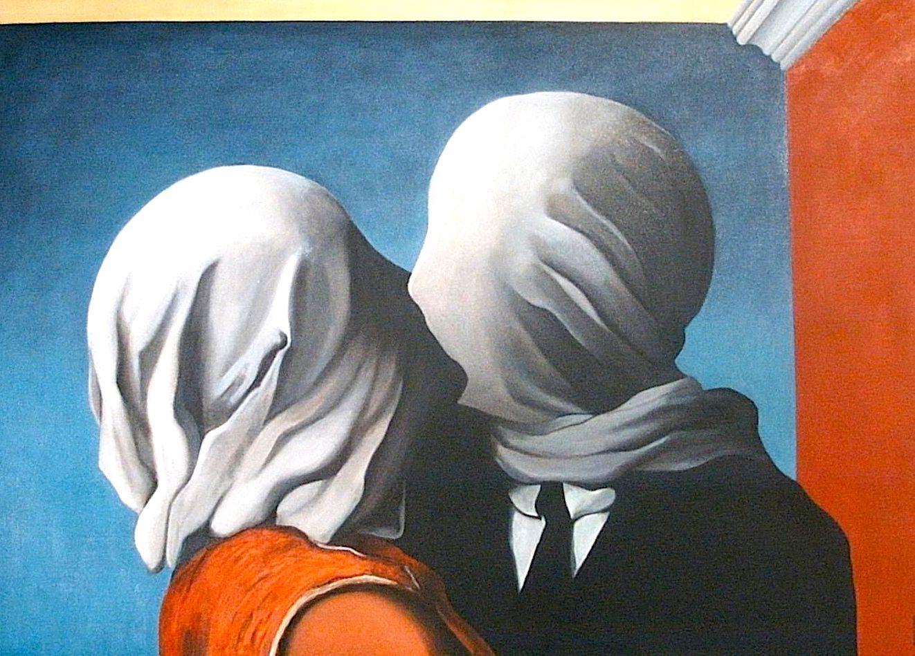 Rene Magritte - Të dashuruarit