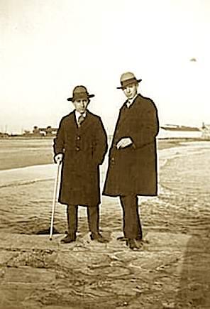 Foto Bala dhe Niko Stralla, Montpelier 1931