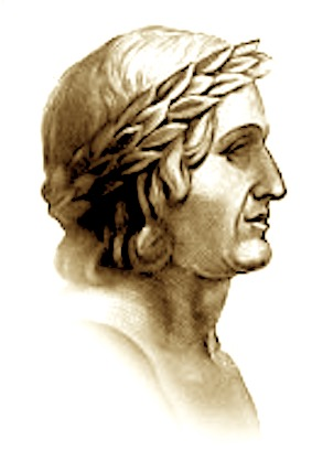 Portreti i poetit ilir Publius Papinius Statius (45-96)  Luka Signorelli (Kortona 1445-1523)