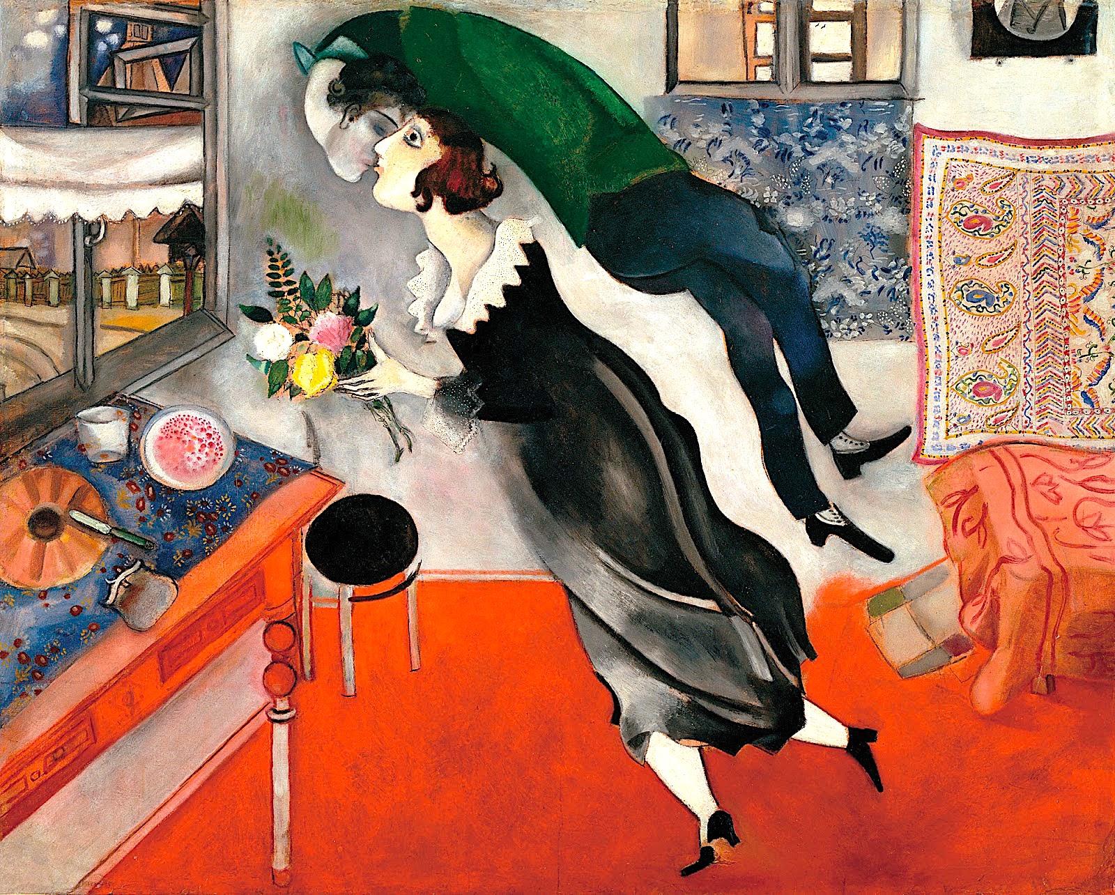 Marc Chagall - Pervjetor 1915