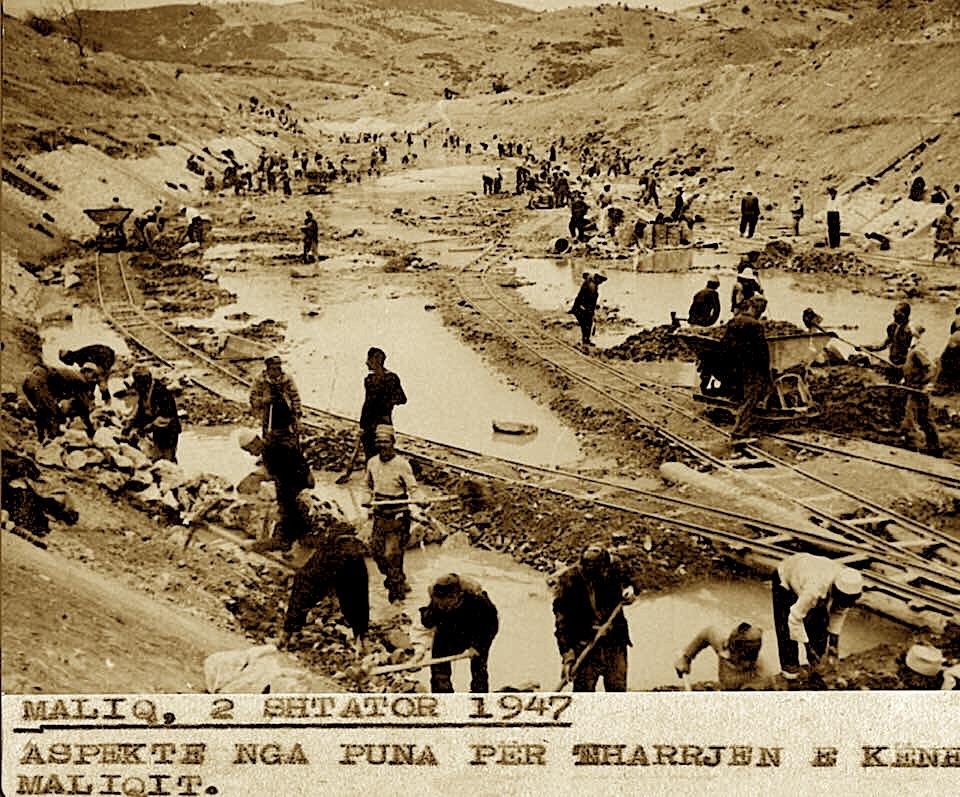 Kanali i Kënetës së Maliqit ku vdiqën me dhjetra intelektualë