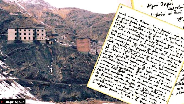 Burgu i Spaçit dhe letra e protestes