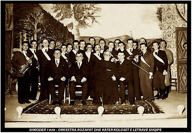 Fishta - Koliqi - Asdreni - Lasgushi - Shkodër 1938