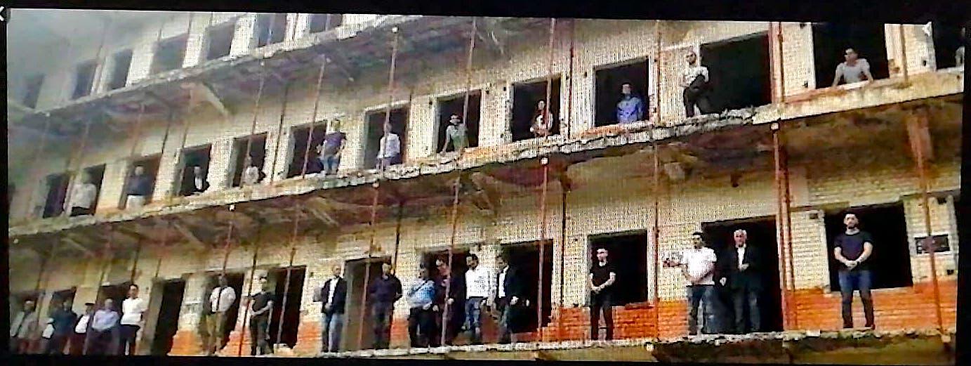 Proteste nga Burgu i Spaçit