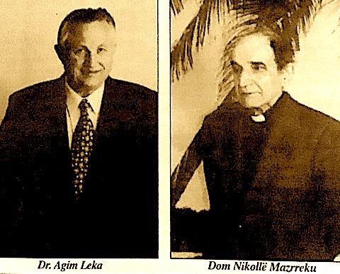 Dr. Agim Leka & Dom Nikolle Mazrreku