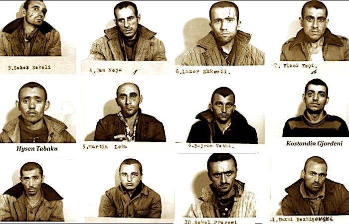 12 të dënuarit e Revoltës së Qafë-barit - 22 maj 1984