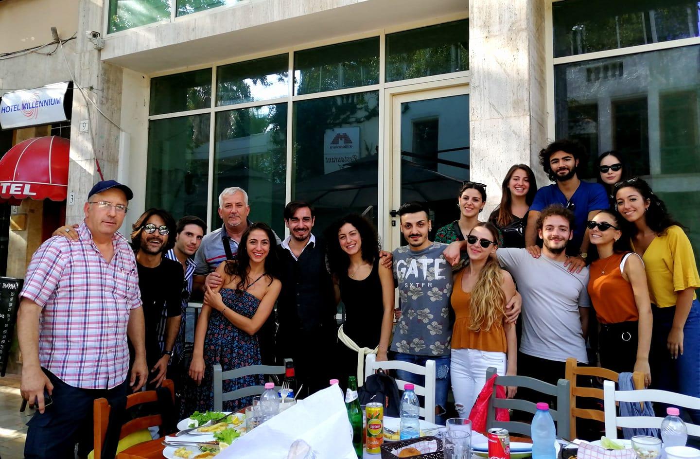 Artistët e Fabbrica Wojtyla & Compagnia della Città - Tirane 28 shtator 2019