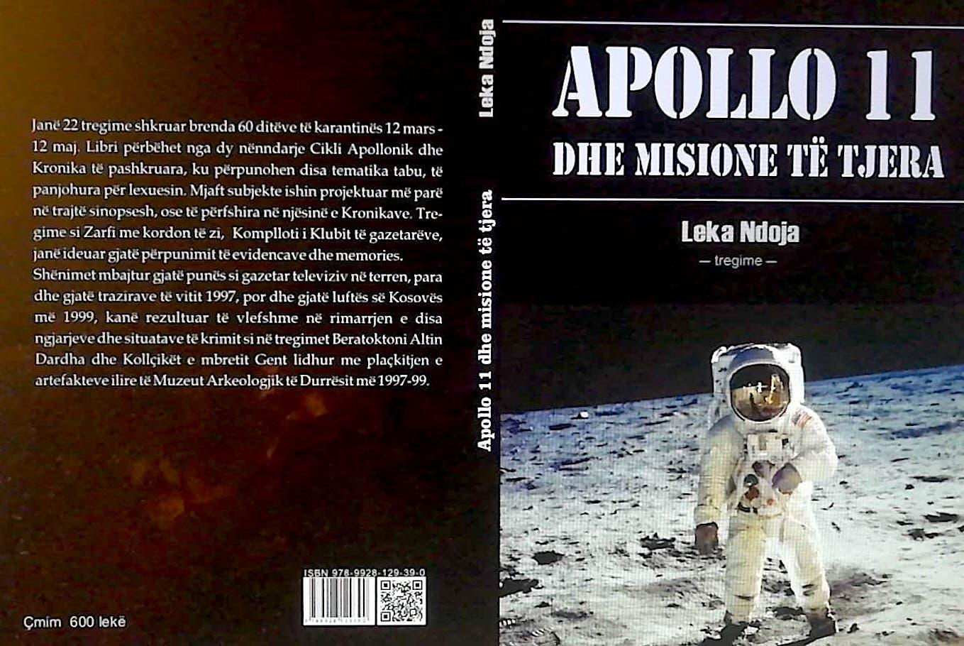 Apollo 11 dhe misione te tjera - Tregime nga Leka Ndoja