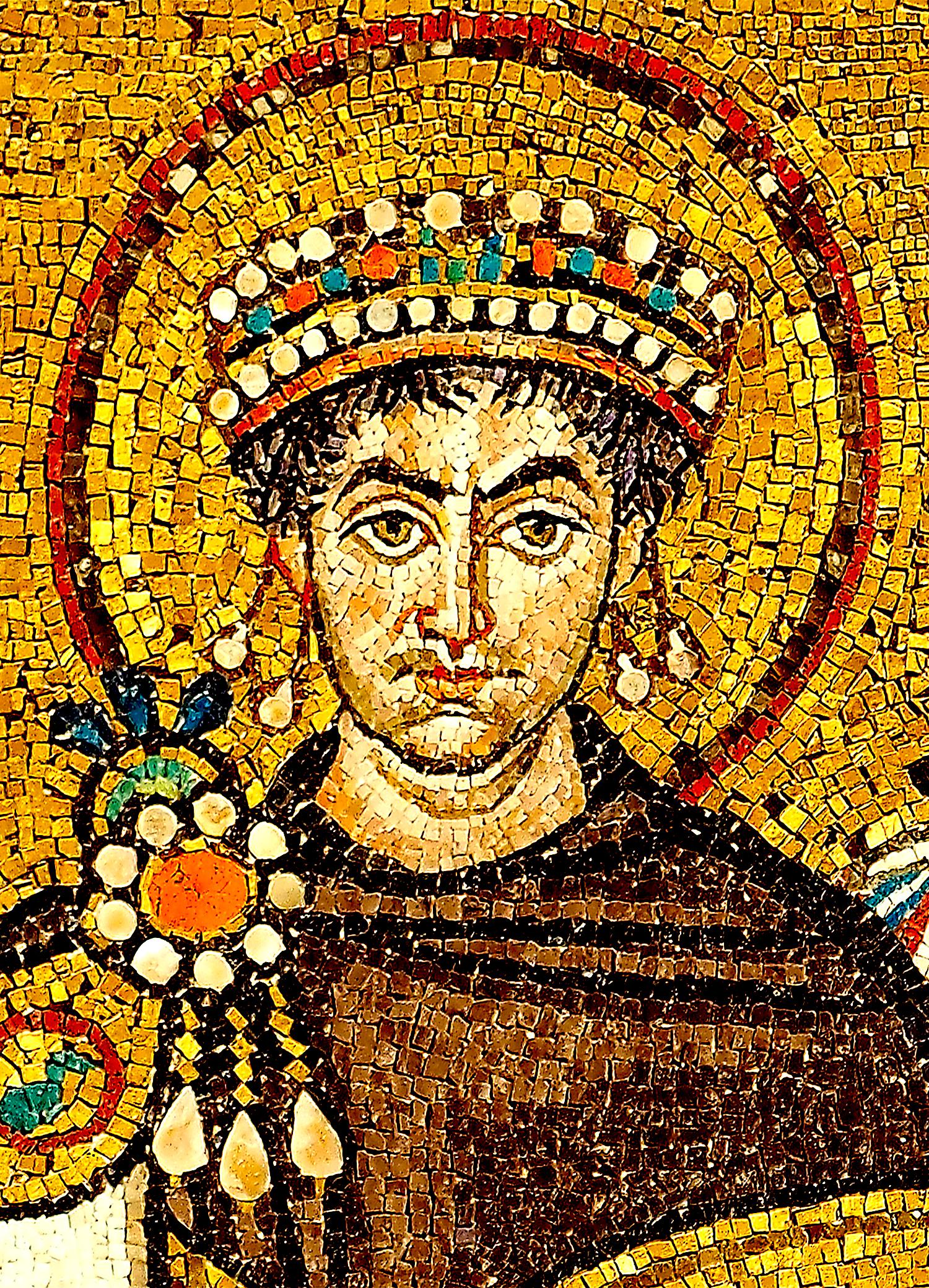 Mosaiku i Justinianit te I (Ravenna)