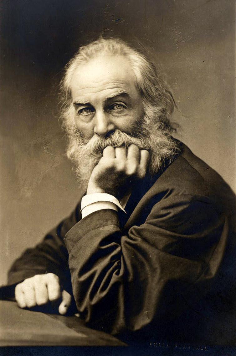 Walt Whitman (1819-1892) rreth te Pesedhjetave