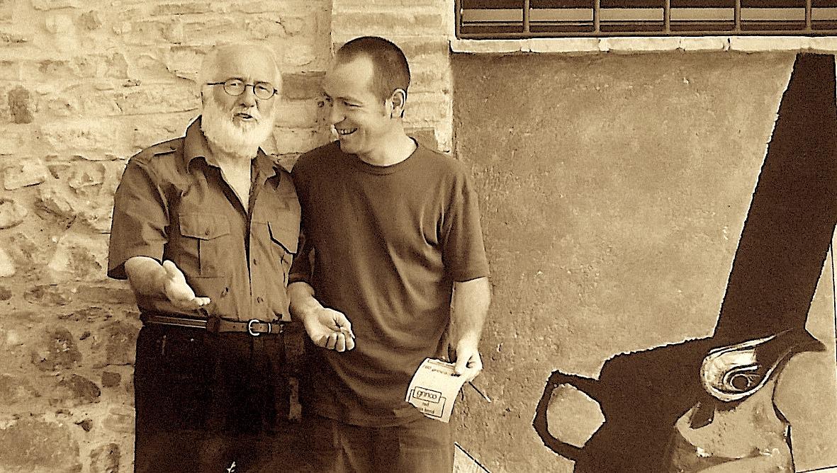Ziso Kamberaj dhe Profesor Bonanno