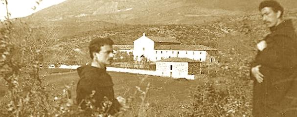 At Gjergj Fishta dhe mesuesi i tij Leonardo de Martino