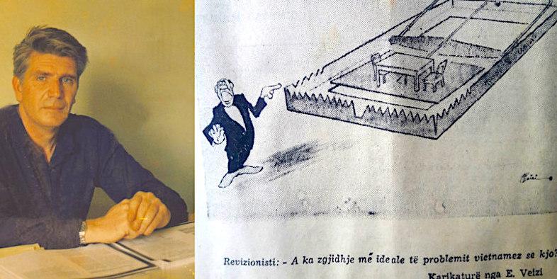 Enriko Veizi dhe karikatura - pasioni i tij