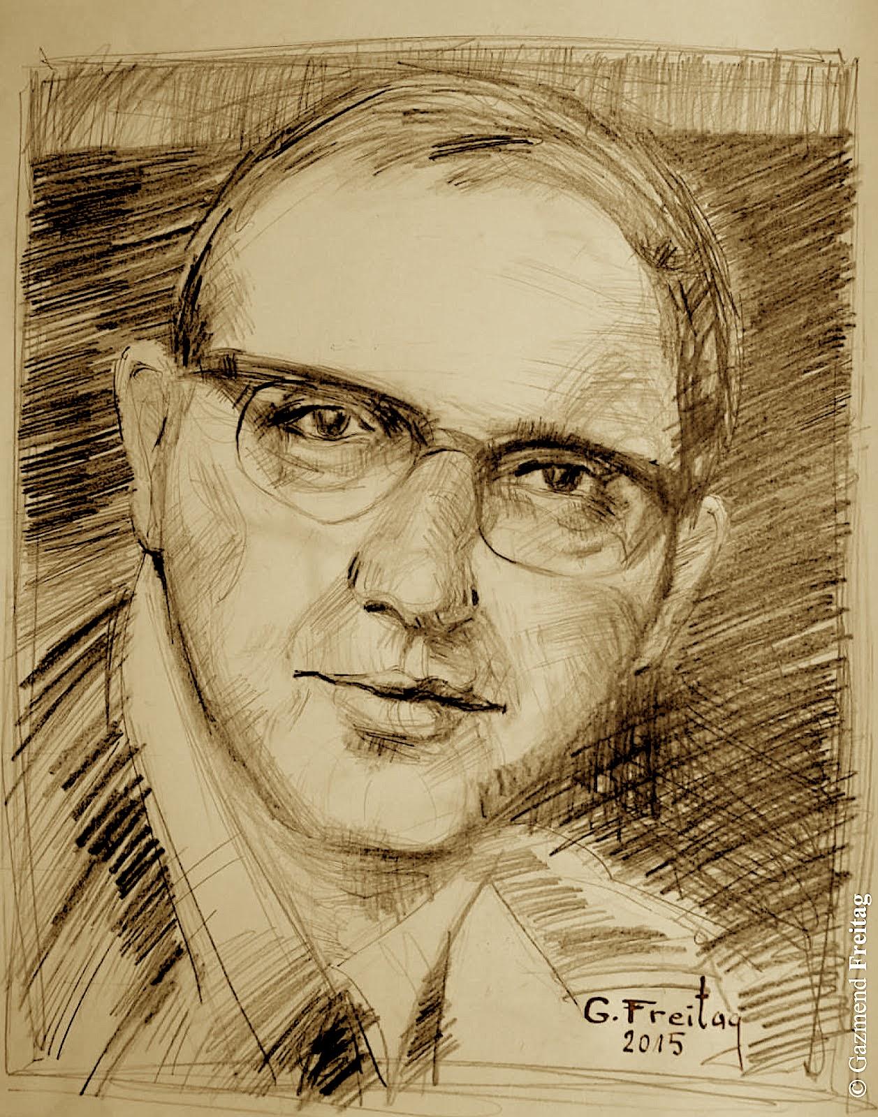 Martin Camaj - Gazmend Freitag (skicë)