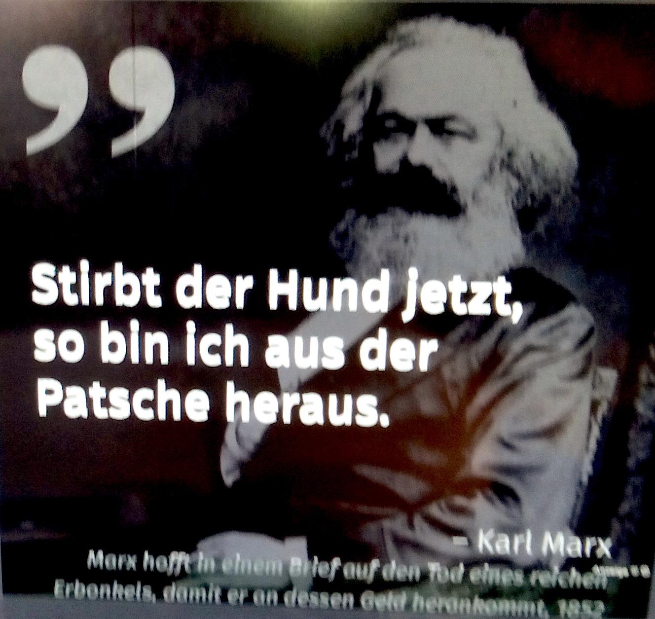 """Shprehje nga  """"Marx & Engels intim"""" nga Björn & Simon Akstinat"""