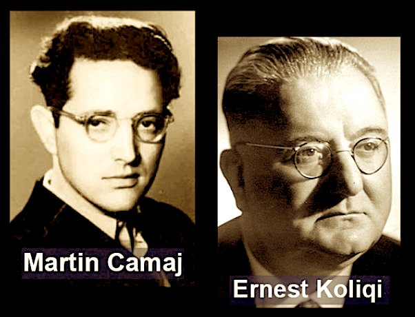 Martin Camaj & Ernest Koliqi