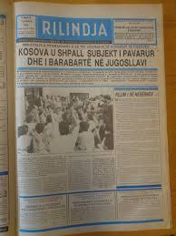 Rilindja e Kosoves 2 korrik 1990