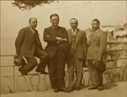 Ernest Koliqi & Mustafa Merlika - Kruja, në një foto të rrallë